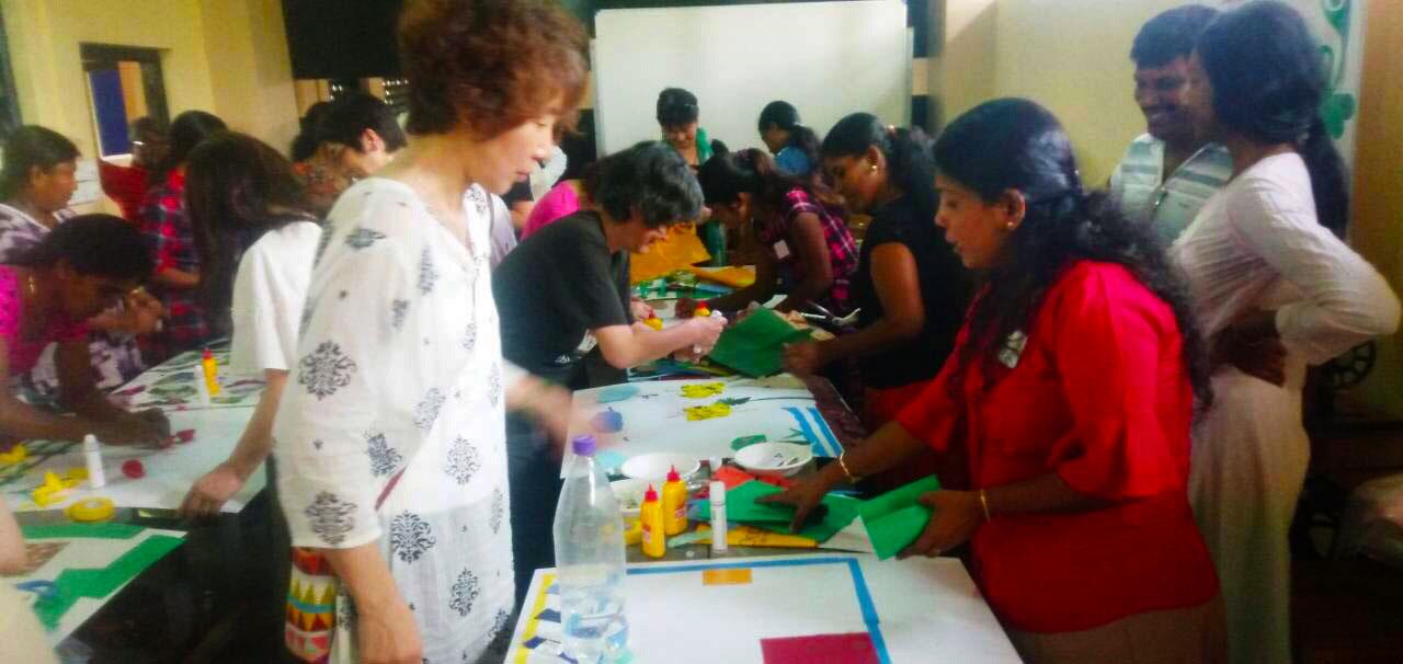 Gnadaa study tour workshop